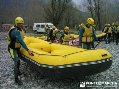 Rafting río Ara; paseos sierra madrid; rutas andando por madrid